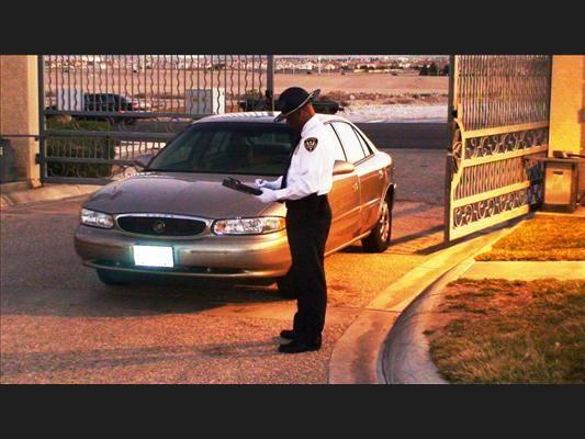 A Morrison Security Patrol Officer on duty in Las Vegas.