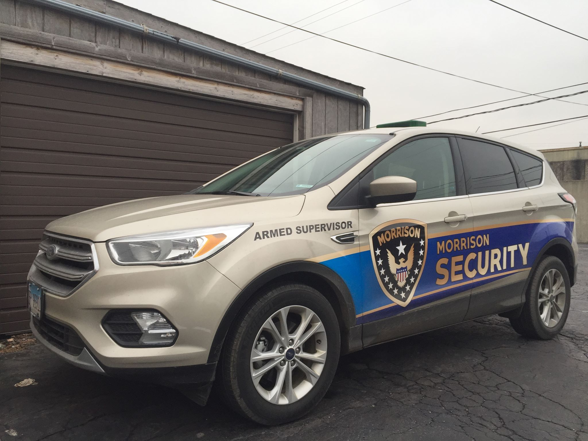 Morrison Security Armed Supervisor Patrol Vehicle